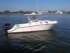 Used Mako 253 WA253 WA Saltwater Fishing Boat For Sale