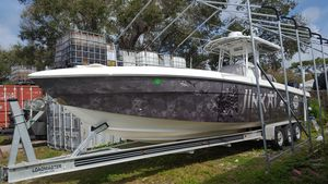 Used Manta Sport Fish Center Console Fishing Boat For Sale