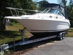 Used Sea Ray 270 Sundancer Special Edition Express Cruiser Boat For Sale