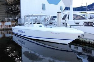 Used Intrepid 350 Center Console Fishing Boat For Sale