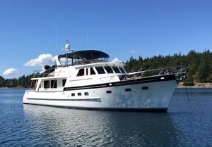 Used Grand Alaskan Raised Pilothouse Motoryacht Motor Yacht For Sale