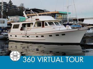 Used Defever 60 Flush Deck Trawler Boat For Sale