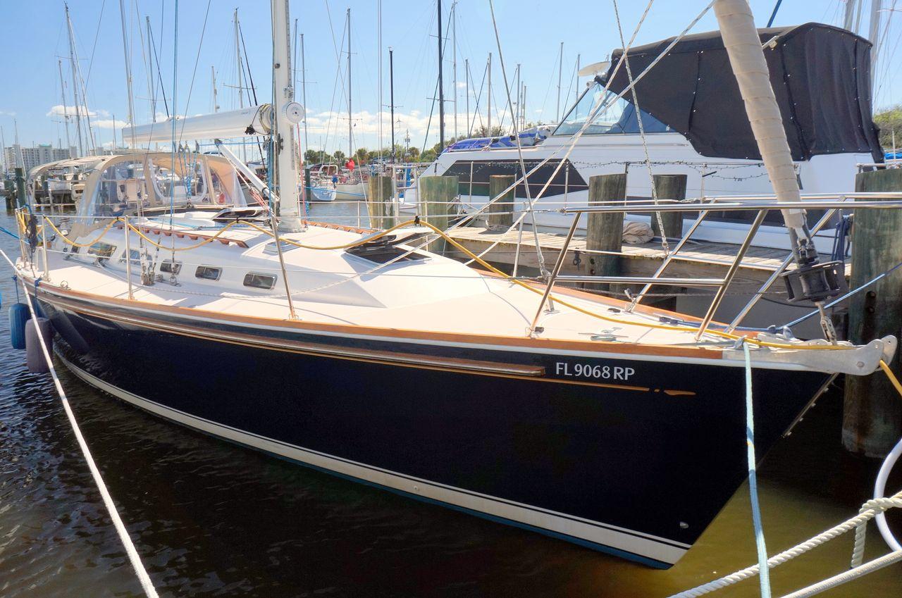 used sabre 402 sloop sailboat for sale