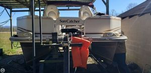 Used Suncatcher LX22 Fish and Cruise Pontoon Boat For Sale