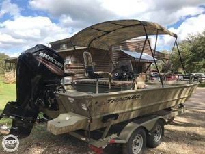 Used Tracker Grizzly 2072 CC Aluminum Fishing Boat For Sale