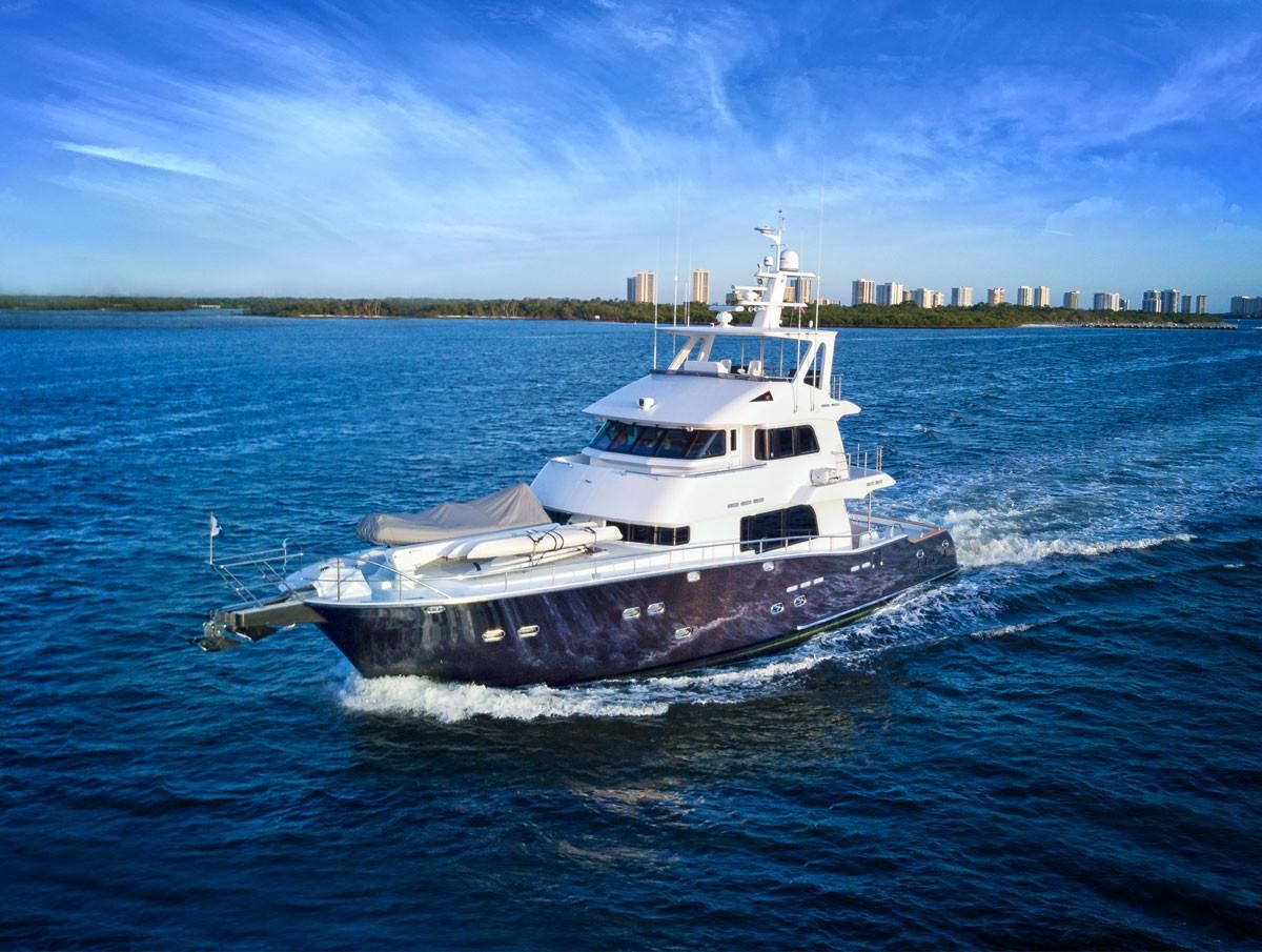 2009 Used Nordhavn 75 Expedition Yachtfisher Motor Yacht For Sale