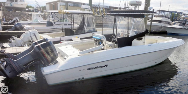 Used Scarab 28 Center Console Fishing Boat For Sale