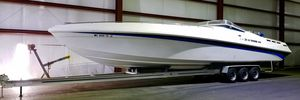 Used Black Thunder 43 SC High Performance Boat For Sale