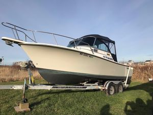 Used Shamrock 220 Cuddy Cabin Boat For Sale