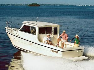 Used Shamrock 270 Mackinaw Saltwater Fishing Boat For Sale