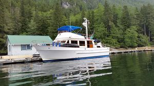 Used Chb Classic TRI Cabin Trawler Boat For Sale