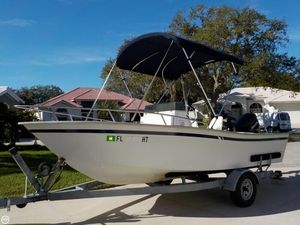 Used Cape Horn 17 Center Console Bay Boat For Sale