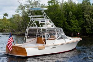 Used Hodgdon 33 Sport Fisherman33 Sport Fisherman Saltwater Fishing Boat For Sale