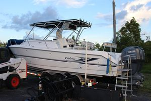 Used Cobia 312 Sport Cabin Center Console Fishing Boat For Sale