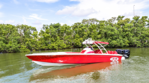 Used Avanti 33 Cuddy Center Console Fishing Boat For Sale