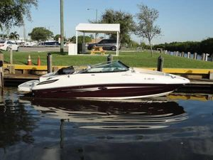 Used Sea Ray 240 Sundeck Saltwater Fishing Boat For Sale