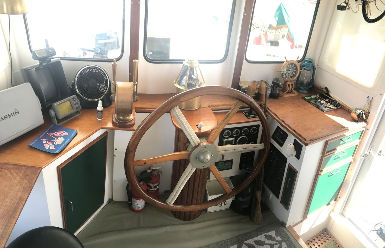 1974 Used Trawler 50 Fathom Penobscot Pilothouse Commercial