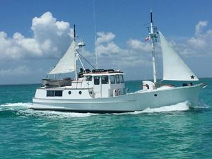 Used Trawler 50 Fathom Penobscot Pilothouse Commercial Boat For Sale