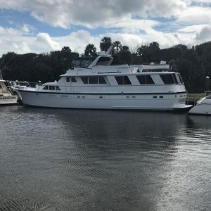 Used Hatteras Custom Extended 82' Motoryacht Motor Yacht For Sale