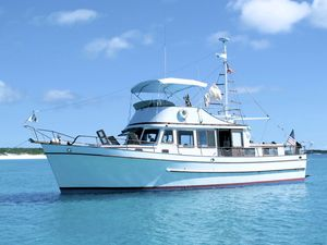 Used Marine Trader TRI Cabin Trawler Boat For Sale
