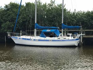 Used Morgan 416 Out Island Yanmar Diesel Cruiser Sailboat For Sale