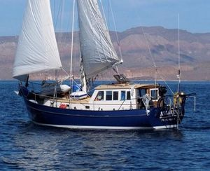 Used Custom Treworgy Pilothouse Cutter Cruiser Sailboat For Sale
