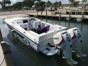 Used Cigarette 31 Bullet - 2014 EV E-tec 300C - 40 Hours - All Options New ! Cuddy Cabin Boat For Sale
