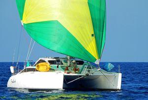 Used Grainger 42 Custom Mystery Cove Catamaran Sailboat For Sale