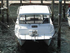 Used Twin Vee 32 Weekender Power Catamaran Boat For Sale