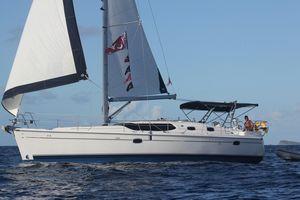 Used Hunter 45 Deck Salon Cruiser Sailboat For Sale