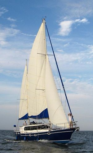 Used Bruce Roberts 53 Custom Ketch Cruiser Sailboat For Sale