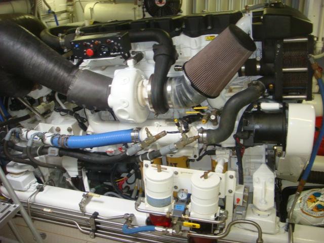 2008 Used Lyman Morse Flybridge Cruiser Motor Yacht For