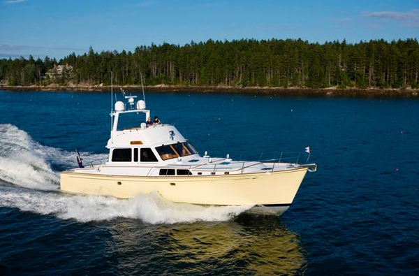 Used Lyman-Morse Flybridge Cruiser Motor Yacht For Sale