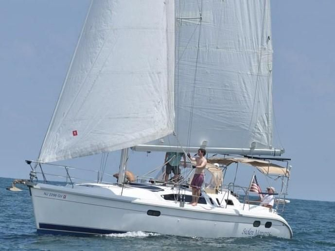 1998 Used Hunter 376 Cruiser Sailboat For Sale 64 800 Rock Hall