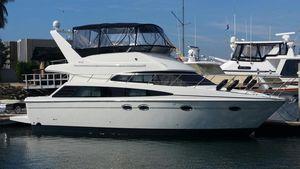 Used Carver 42 Super Sport Flybridge Boat For Sale