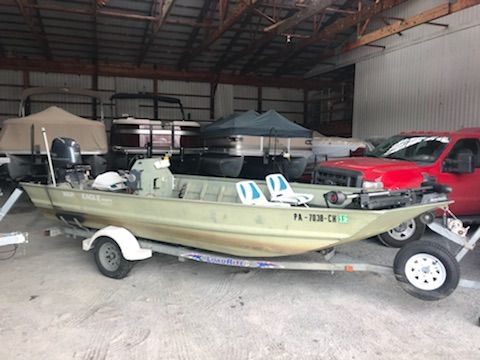 War Eagle Boats For Sale >> 2001 Used War Eagle 1860 Jon Boat For Sale 8 995 Milton