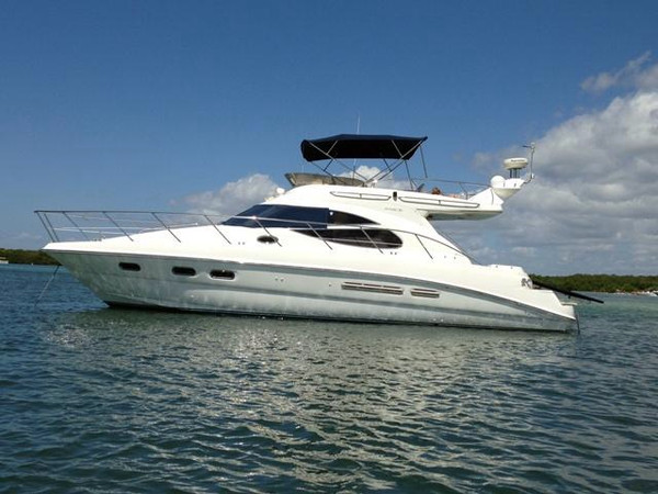 Used Sealine F425 Sports Cruiser Boat For Sale