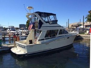 Used Tollycraft 34 Sport Sedan Convertible Fishing Boat For Sale