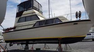 Used Marinette 32 Sedan Bridge Express Cruiser Boat For Sale