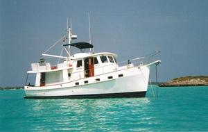 Used Kadey Krogen Raised Pilothouse Trawler Pilothouse Boat For Sale