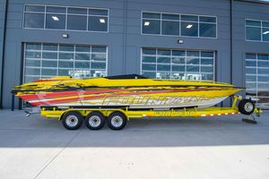 Used Fountain 35 Executioner High Performance Boat For Sale