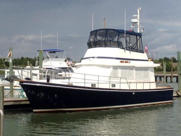 Used Cape Dory 40 Explorer Motor Yacht For Sale
