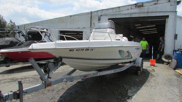 Used Aquasport Saltwater Fishing Boat For Sale