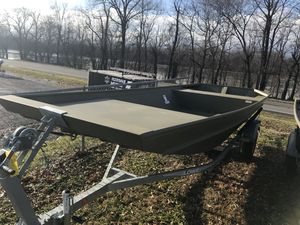 New Lowe Roughneck 1655 Big River Jon Boat For Sale
