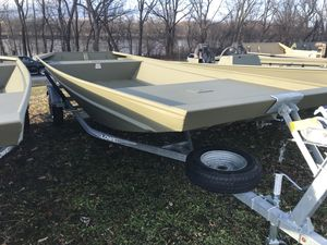 New Lowe Roughneck 1755 Big River Jon Boat For Sale