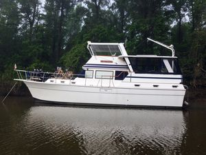 Used Gulfstar 44 Motor Cruiser Trawler Boat For Sale