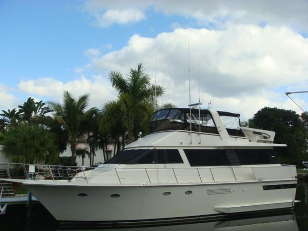 Used Viking Yachts Motoryacht Aft Cabin Boat For Sale