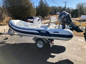 Used Ab Inflatables 12 VST Tender Boat For Sale