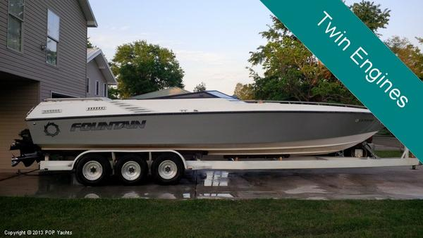 Used Fountain 33 Executioner High Performance Boat For Sale