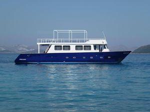 Used Custom Aganthur Dive Vessel Dive Boat For Sale